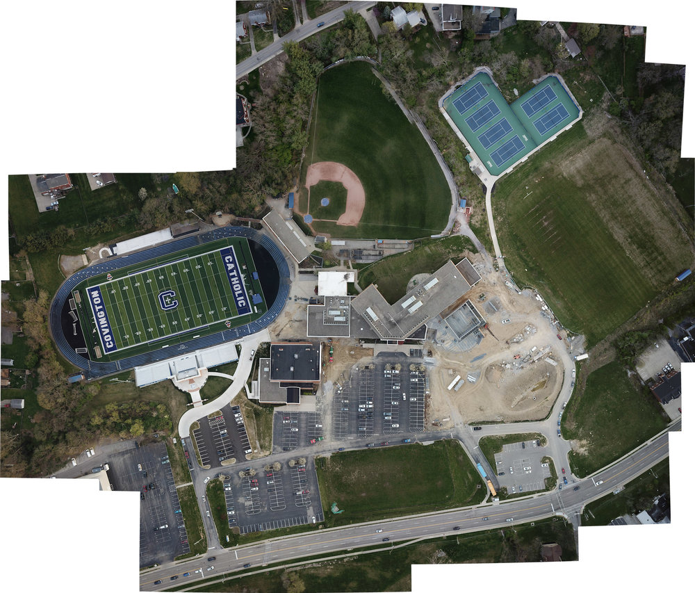 Aerial Ortho Mosaic Mapping