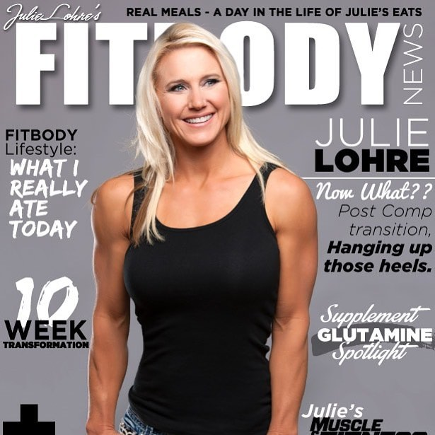 Of all of the covers I've worked on for #FITBODY this one is my favorite of @julielohre Then again, I am partial! 😆 #FITBODY #fitspo #womensfitnessmagazine #WomensFitness #magazinecover #FITBODYMagazine #JulieLohre #fitness #fitnessmodel #girlswholift #fitnessmotivation #fitnesstransformation