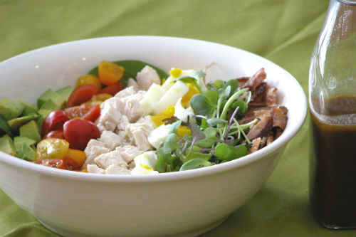 Cobb Salad & Balsamic Vinaigrette Dressing