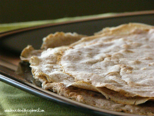 Plantain Flour Tortillas