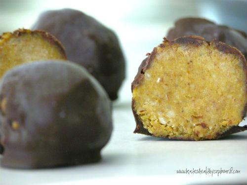 Pumpkin Butter Truffles