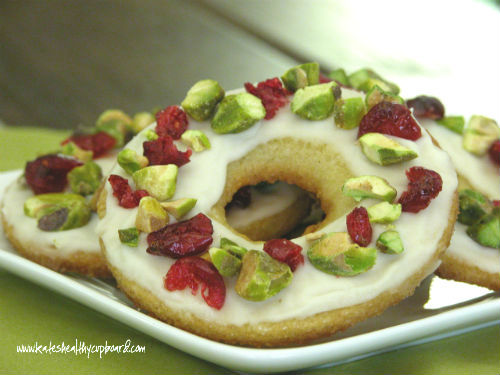 Christmas Wreath Cookies - Kate's Healthy Cupboard