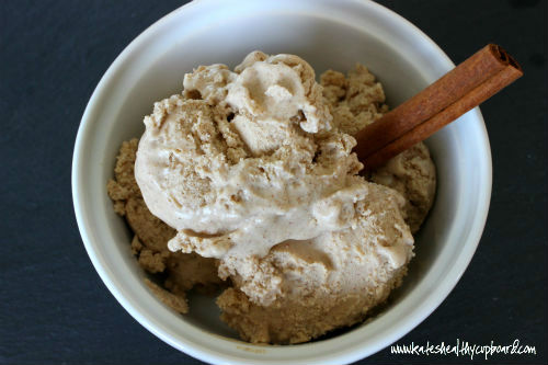 Dairy Free Cinnamon Ice Cream Recipe