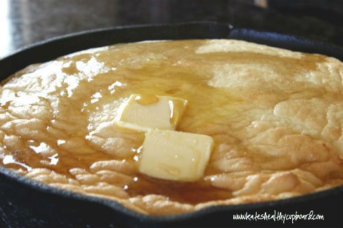 Grain Free German Pancake Recipe
