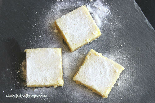 Grain Free Lemon Bars Recipe