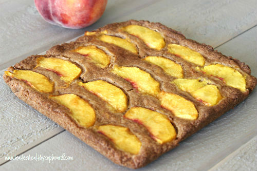 Peach Cookie Bars