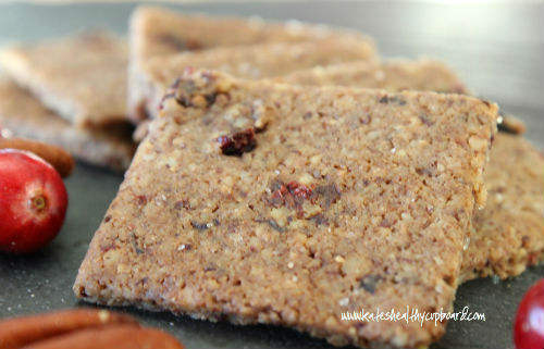 Cranberry Pecan Crackers Recipe