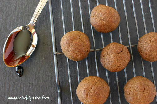 Gingerbread Ball Cookies