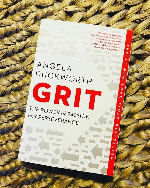 """Can't wait to dive into this book that just arrived!!!! """"The secret to outstanding achievement is not talent but a special blend of passion and persistence she calls grit."""" 🙌Have you read it? • Thank you @jess.holdthespace for the suggestion!!! . . #grit #passion #perserverance #achievement #dogood #missiondriven #success #leadership #empower #inspire #angeladuckworth"""