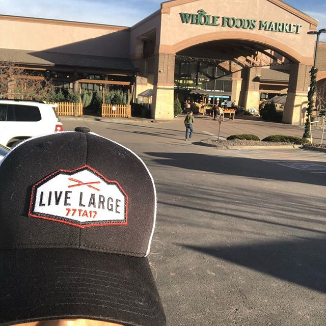 Lady in line at Whole Foods: I love our hat . Me: Thank you with a deep breath.  It's my non-profit to honor my love I lost last year. . Lady: I'm so sorry. I just fought cancer and wear hats all the time because my hair is growing in crazy.  What's the nonfit, I love it and want to buy one. . Me: @livelargeloveloud . I share this because I love Tom's hats and the fact that 100% of proceeds are donated to @roundupriverranch but more importantly torment you that everyone is login through something! Be Kind! . #bekind #livelarge #loveloud #livelargeloveloud #gratitude #hope #hatswithpurpose #hatsonamission