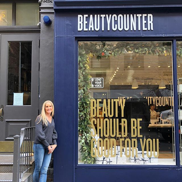 You've changed my life @beautycounter I'm forever grateful! . #nyc #soho #beautycounter #lifechanging #beautyonamission #grateful #purposedrivenlife
