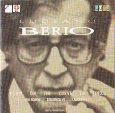 Luciano Berio: Laborintus II (1965)  , Sinfonia (1968-9)   20th September, 2013