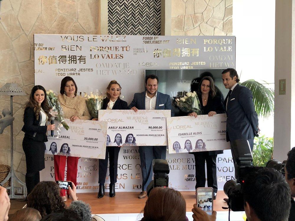Silvia Villareal, Arely Almazán e Isabelle Alois fueron las ganadoras de la última edición.