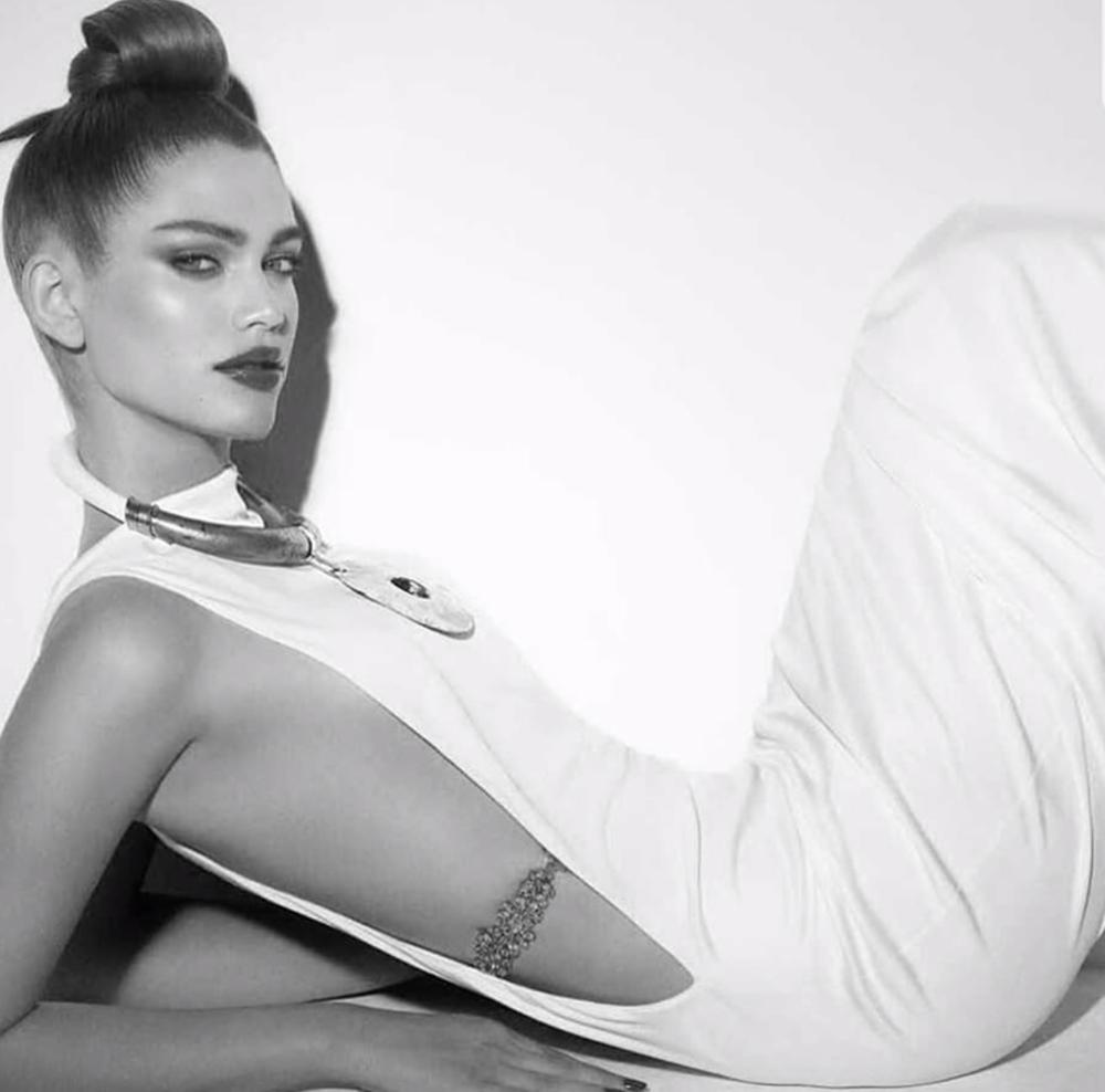 Foto: Instagram de  Valentina Sampaio , utilizada para Vogue Brasil