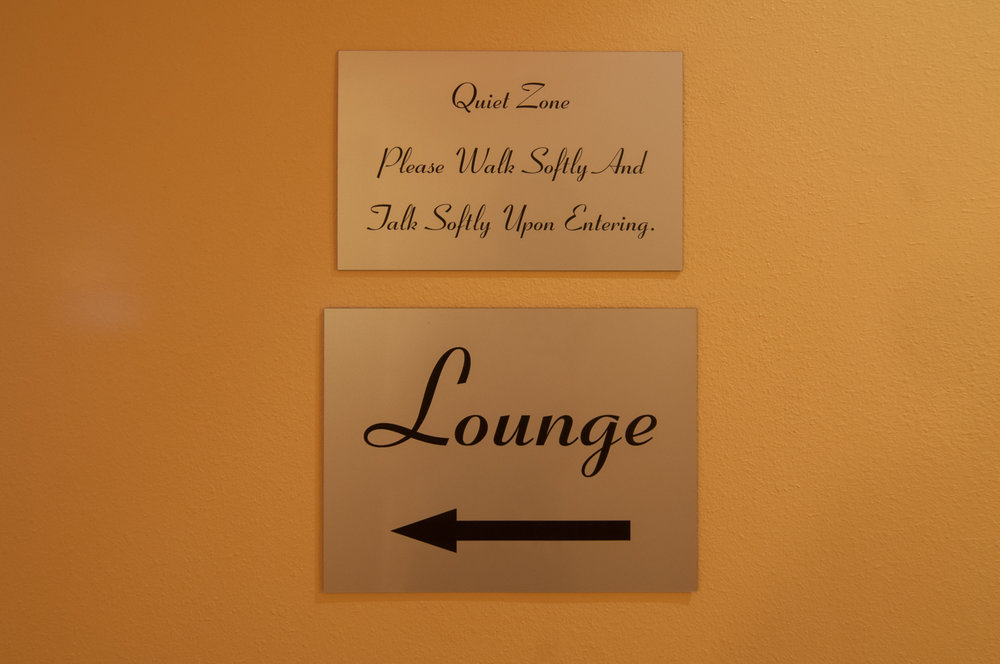 Lounge Hallway Spago Day Spa Medispa Salon Punta Gorda Florida Michael Stampar D.O. DO