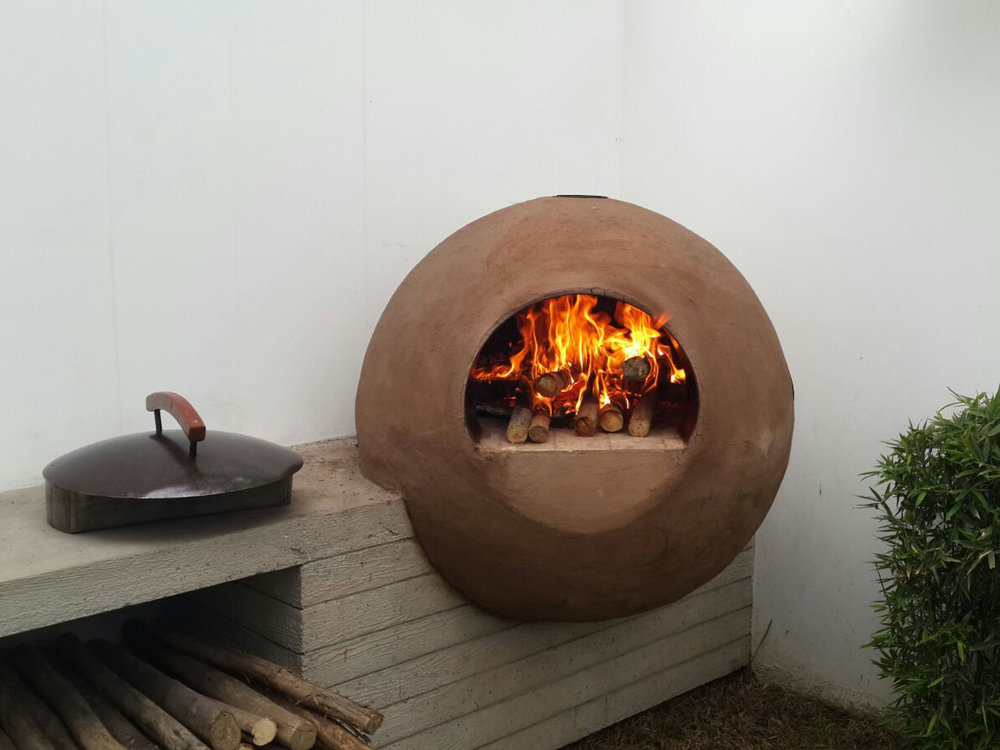 Sphere Clay OVen