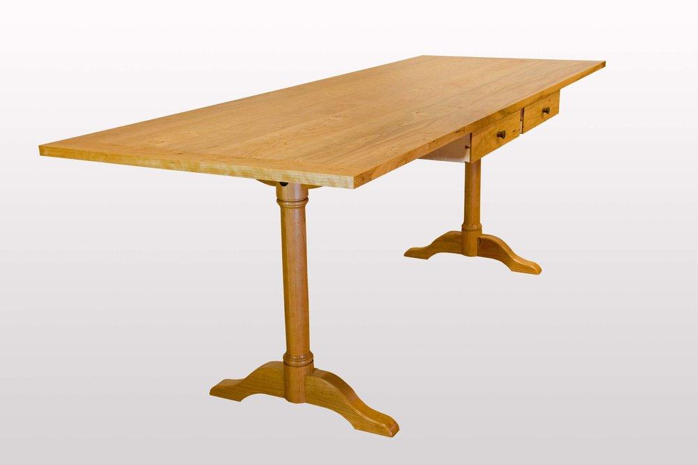 Shaker trestle table.