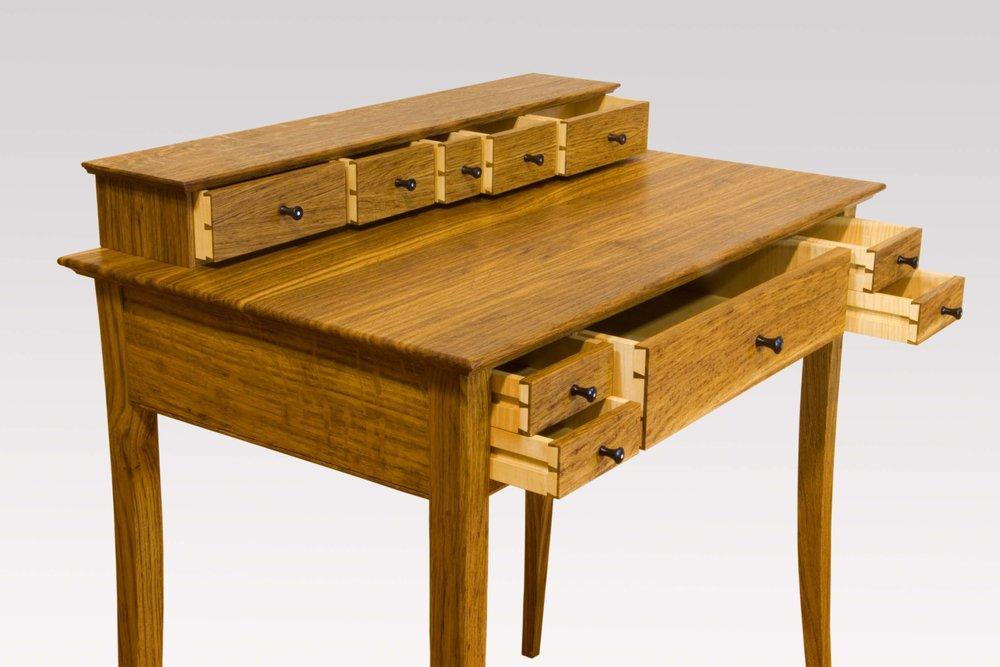 """""""Ladies writing desk""""  Detail."""