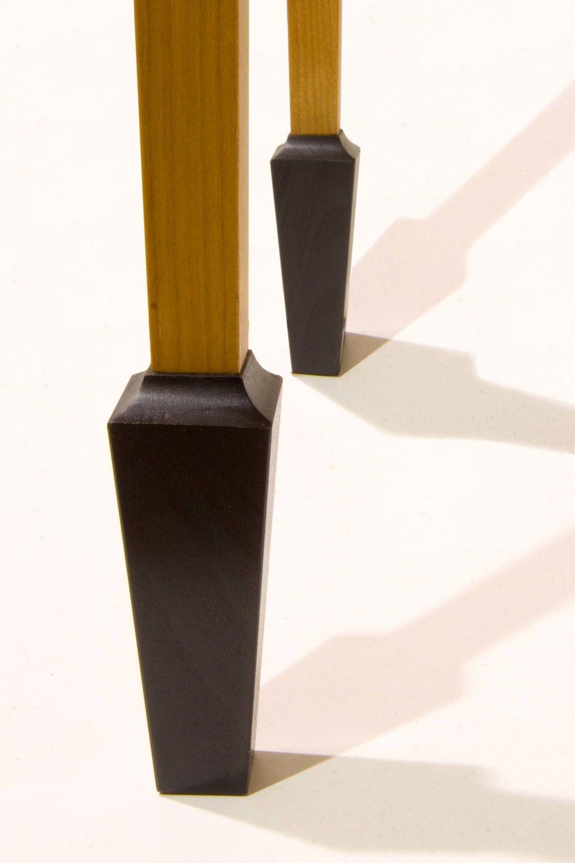 """Stiletto""  Ebonised foot detail."