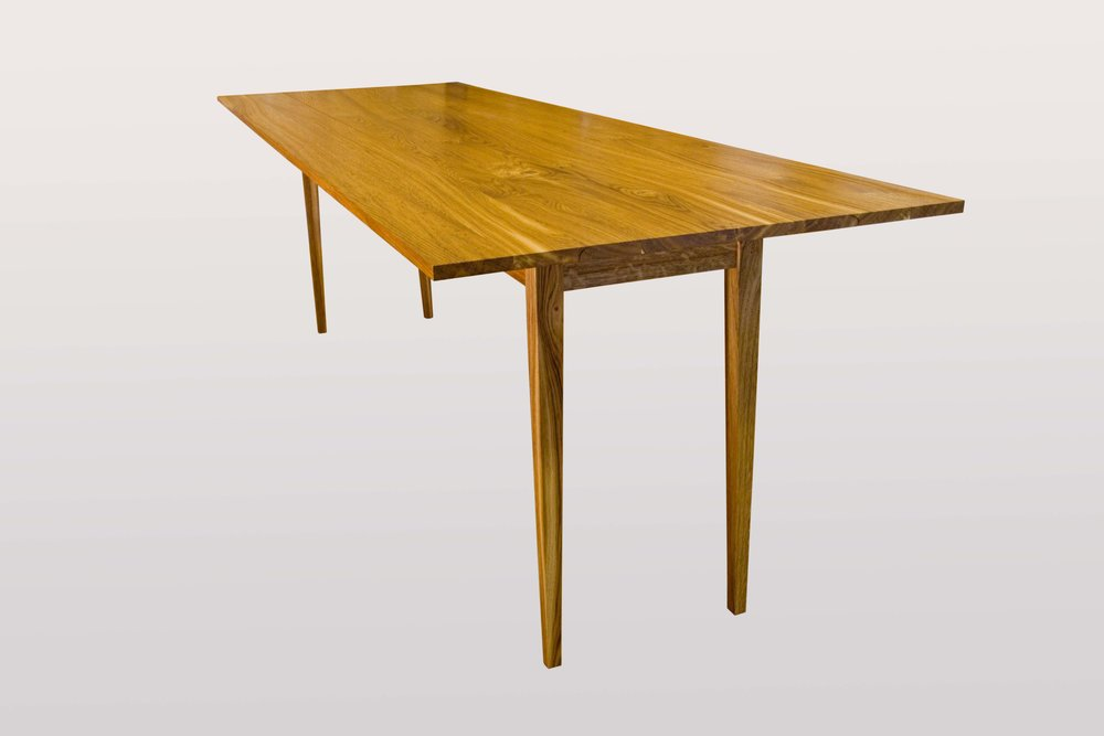 """Harvest table""  Brown oak."