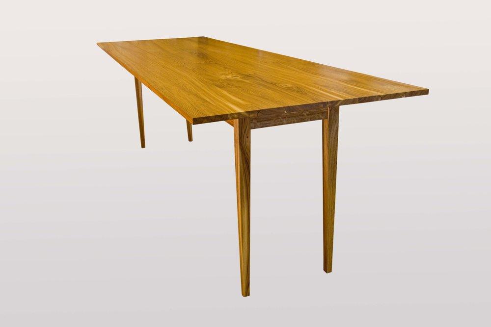 """Harvest table""  Brown oak."