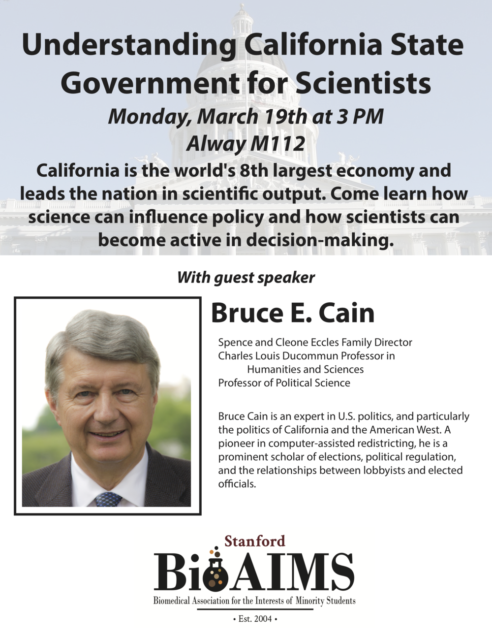 events stanford bioaims