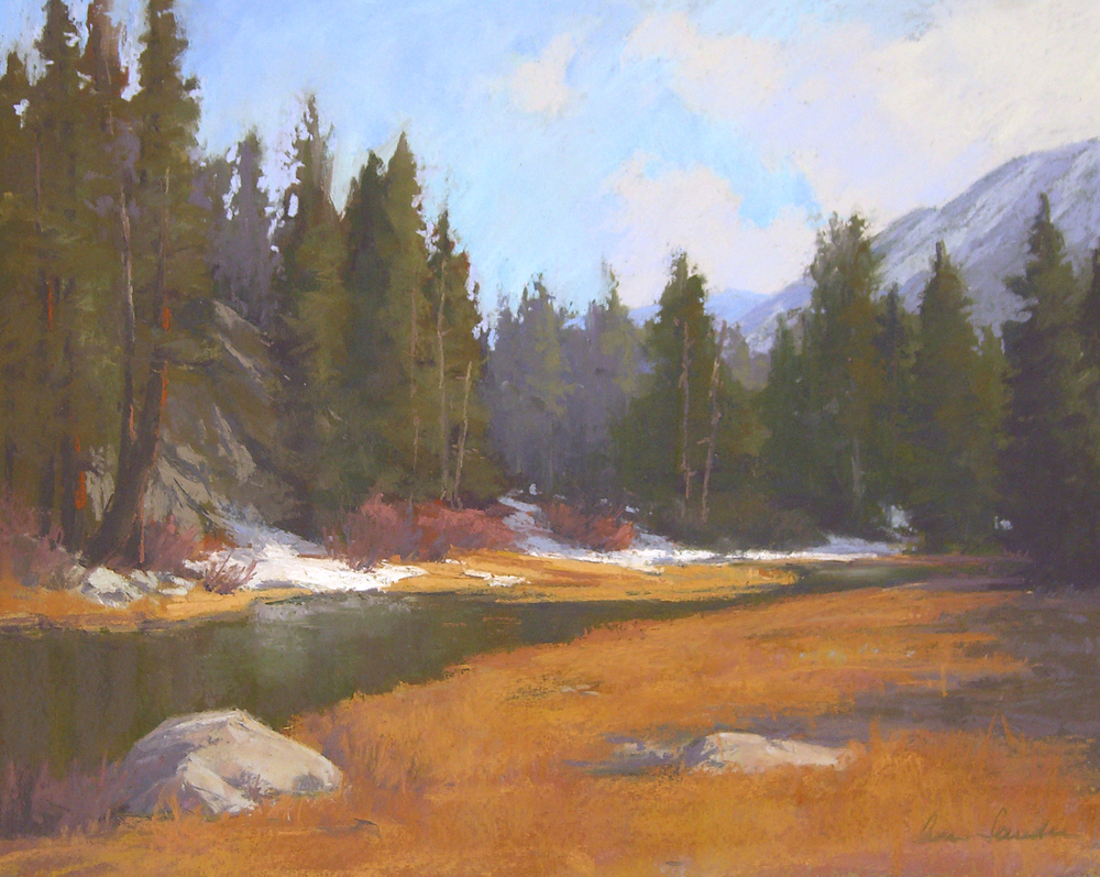 Rock Creek Evening, pastel, 16x20