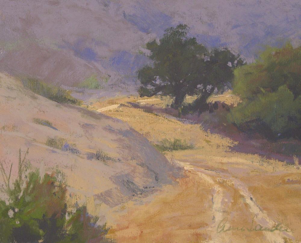 Santa Rosa Road, pastel, 8x10