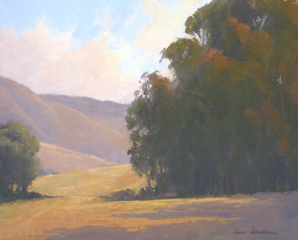 Afternoon Shadows, pastel, 16x20 SOLD