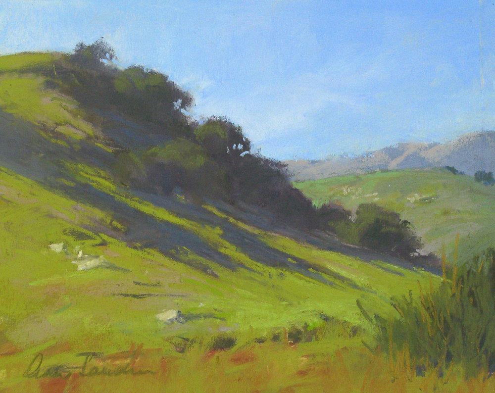 Valley Spring, pastel, 8x10