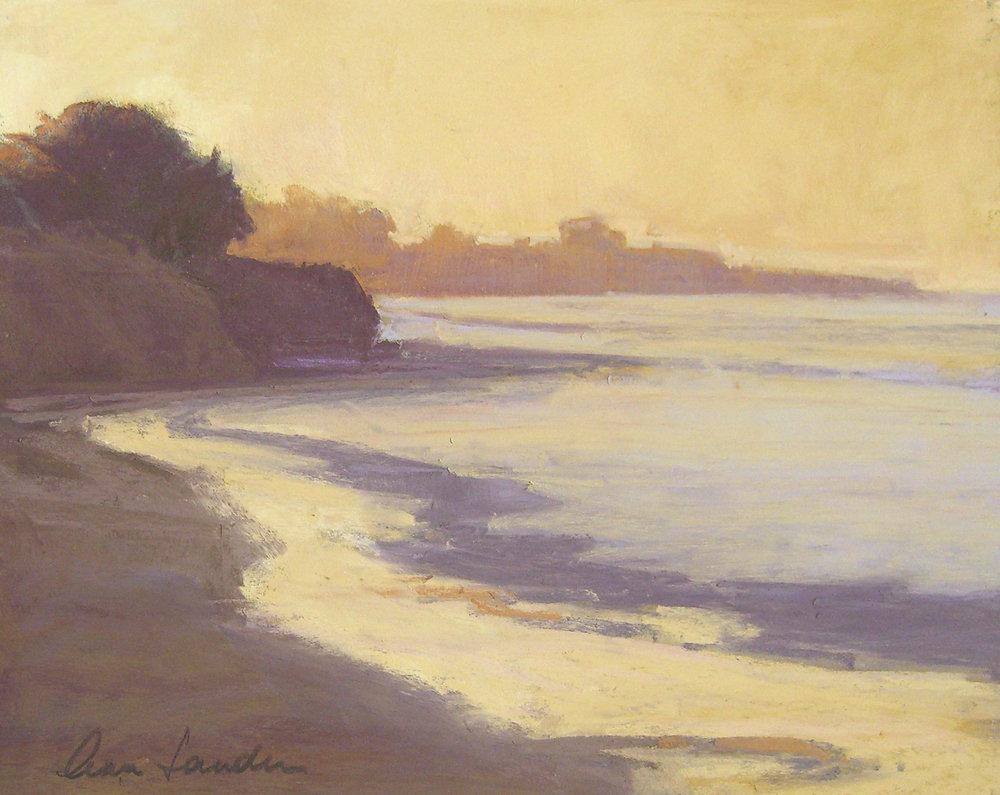 Dawn, pastel, 8x10