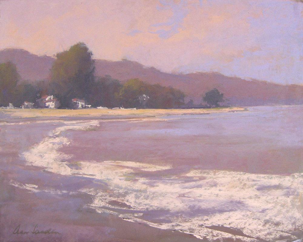 Miramar Beach, pastel, 16x20