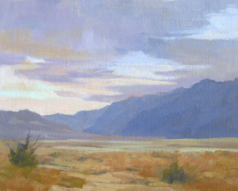 Death Valley, oil, 8x10