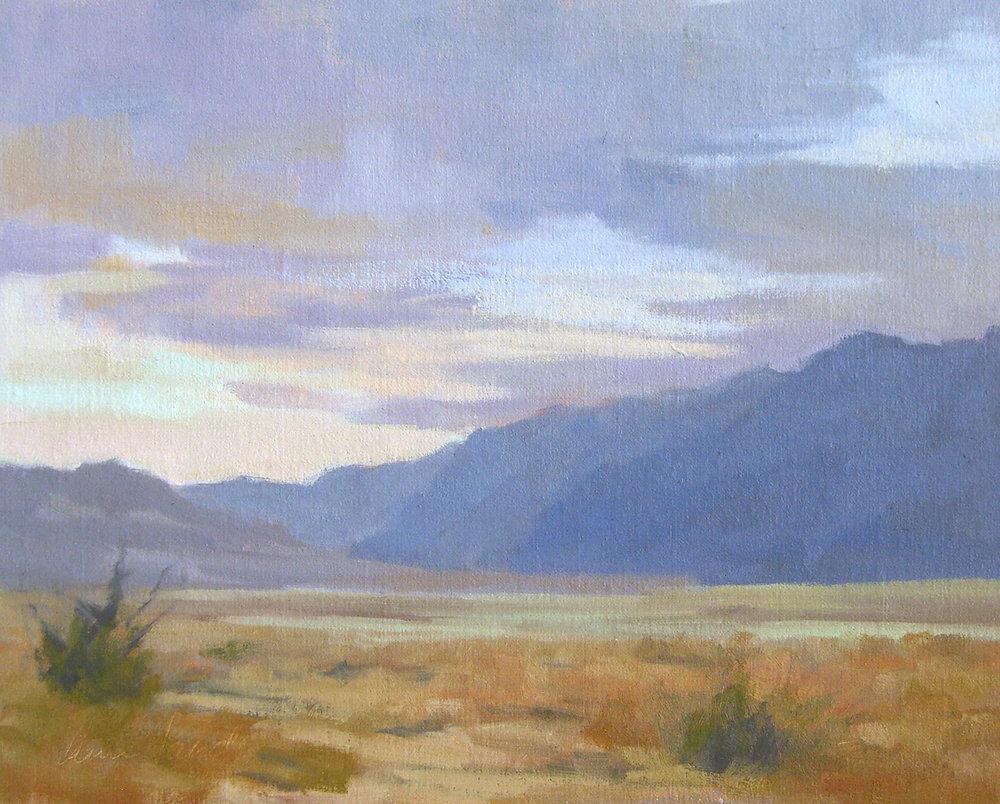 Death Valley, oil, 8x10