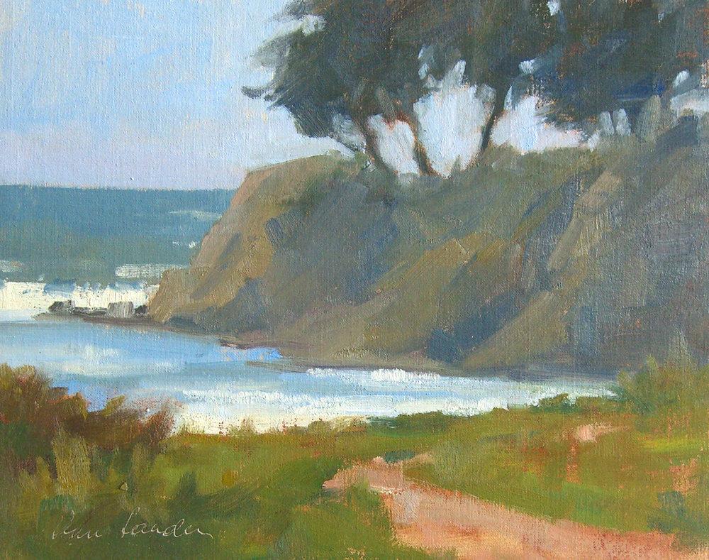 Cove, oil, 8x10
