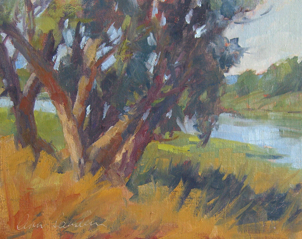 Morning Colors, oil, 8x10 SOLD