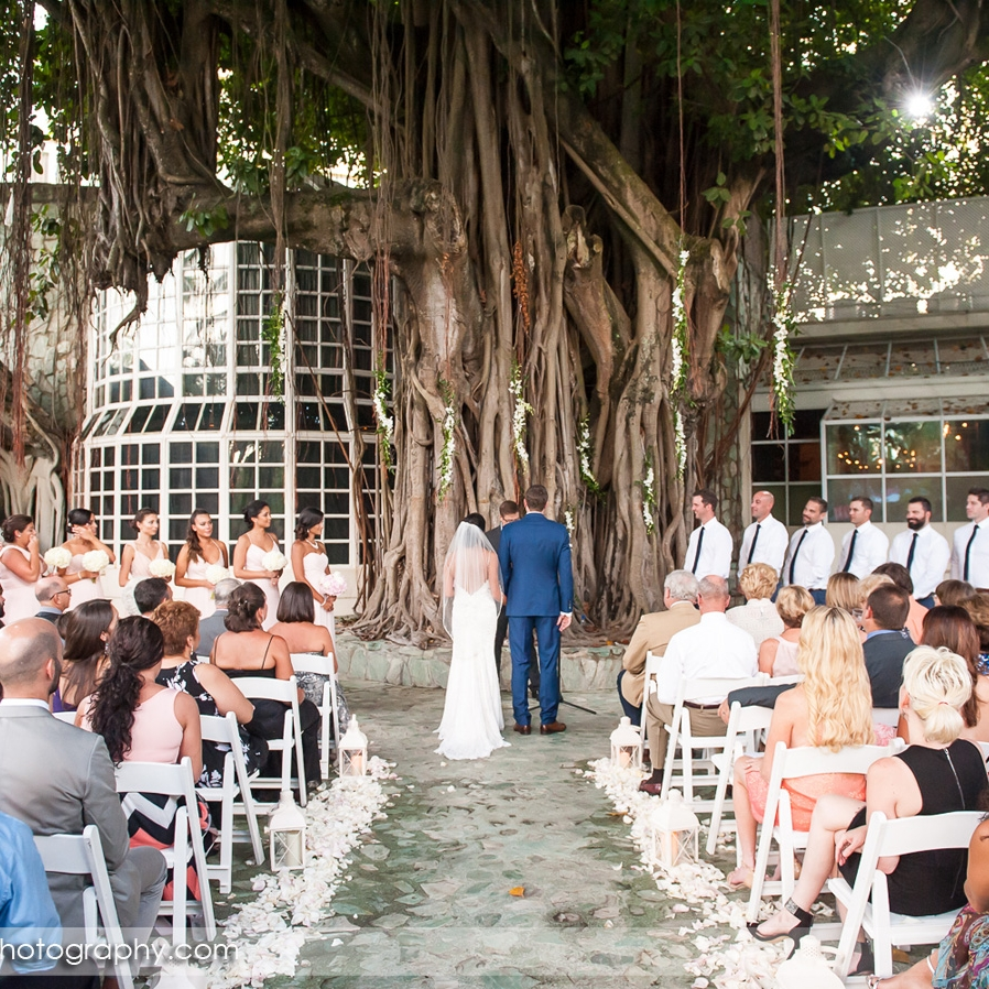 Wedding In Hotel San Juan Banyan Tree