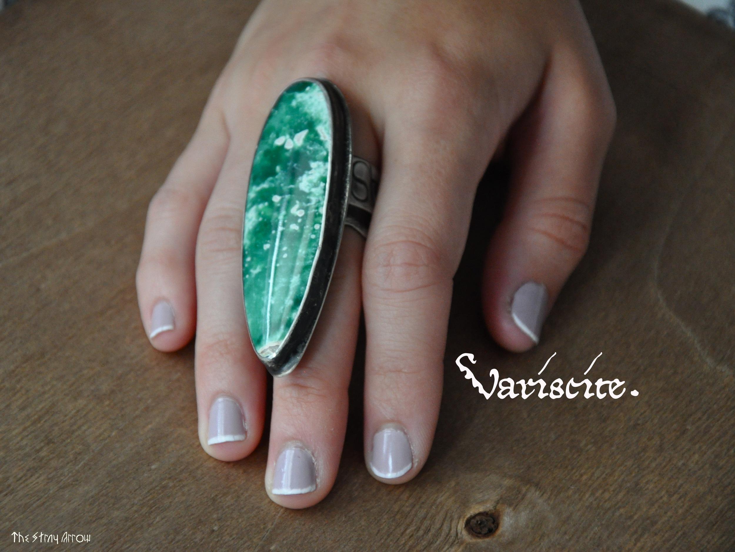 variscite sea ring