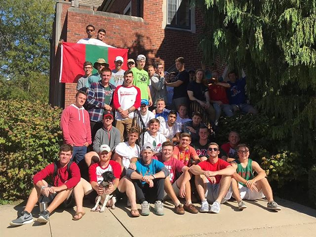 Happy Thanksgiving from the Ohio Beta Chapter of the Phi Kappa Psi Fraternity! We are thankful for everything that our brotherhood has to offer us! 🦃🏈