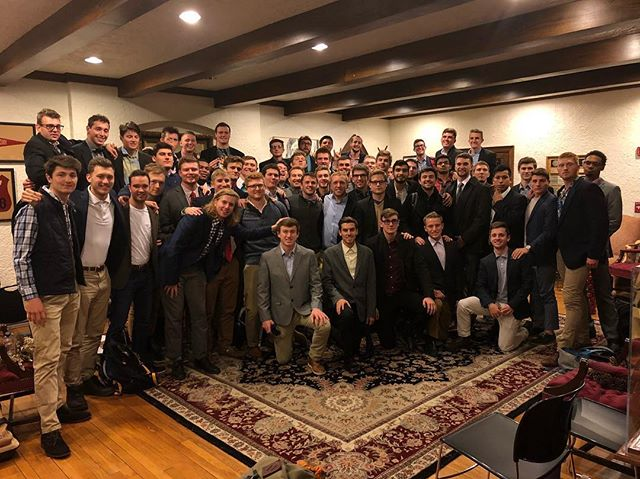 From the Brothers of the Ohio Beta Chapter of the Phi Kappa Psi Fraternity, we hope that you had a happy holiday season and we want to wish you a happy New Year! Cheers to another year of brotherhood and being honorable, courteous, and cultured men! 🥂 #2018WeRide