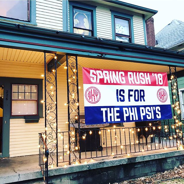 Come meet the brothers of Phi Kappa Psi tonight at our cookout! 7:30pm start time @ 226 West College Ave. Hope to see everyone there... plenty of burgers and hot dogs for all! #SpringRushIsForThePhiPsis #RushPKP