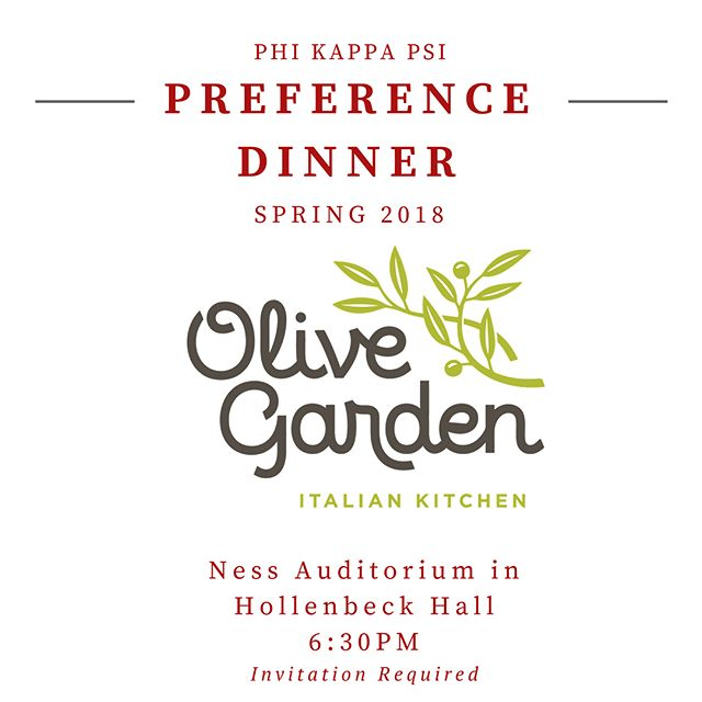Our brothers are excited to see you tonight at our 2018 Formal Preference Dinner! • • • #rushphipsi  #phikappapsi  #rushthetrillest #springrushisforthephipsis