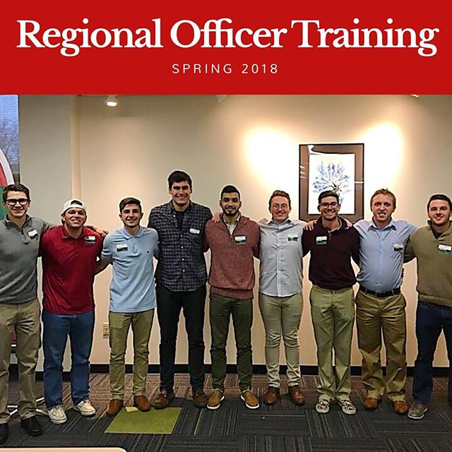 ΦΚΨ - Ohio Beta Leadership Team brought back a wealth of knowledge learned at this years Regional Officer Training. We're excited to work towards continuous positive change within our brotherhood and campus community! ••• #PhiKappaPsi #phipsirot  #CourteousAndCultured  #TraditionServiceExcellence