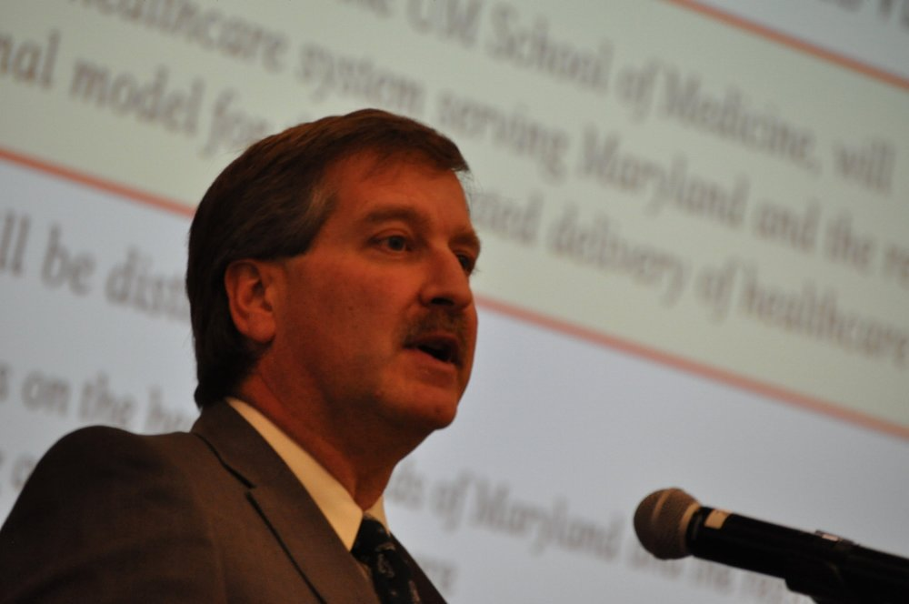 Darryl Mealy, vice president of Construction and Facilities Planning at the University of Maryland Medical System.