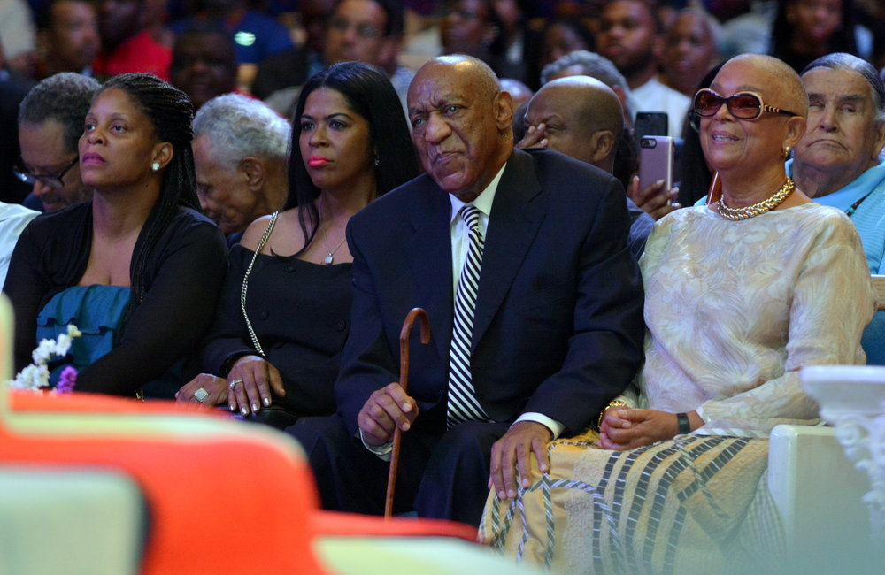 Bill and Camille Cosby. PHOTOS: BILL HART