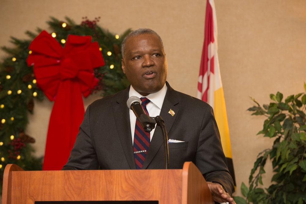 Prince George's County Executive Rushern L. Baker III. PHOTO: GERALD BARNES