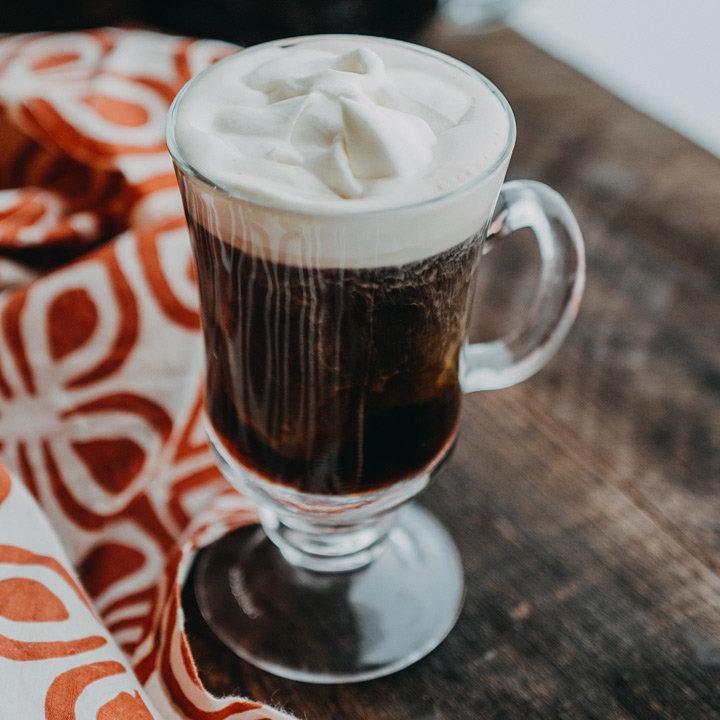 The Charleston Breakfast Coffee is Jerry Slater's Southern take on the Irish Coffee classic.(image: Tim Nusog)