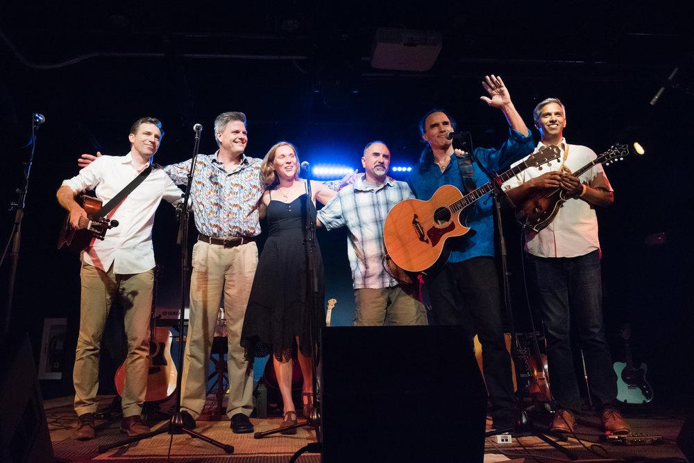 L-R: Patrick Lynch, Greg Heelan, Allison Hughes, Eric Olson, Eric Maring, Arun Ivatury.  PHOTO: AARON SPRINGER