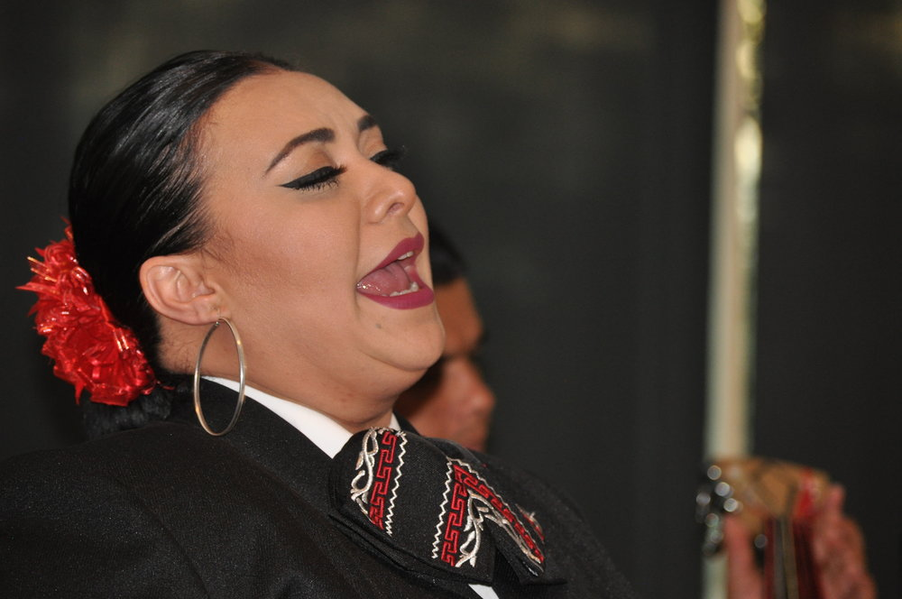 Blanca Chucuan,Mariachi Nacional De DC. PHOTO: PRINCE GEORGE'S SUITE MAGAZINE & MEDIA.