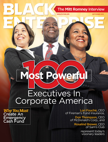 Recognition: Coleman appeared in  Black Enterprise  Magazine in September 2012.